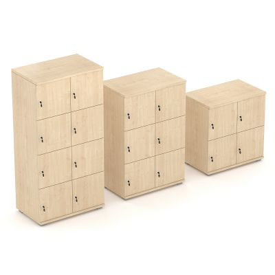 Liberty Wooden Lockers