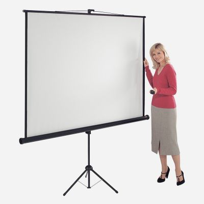 Eyeline Tripod Screen with Black Border