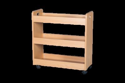 Wooden Lunchbox Trolley