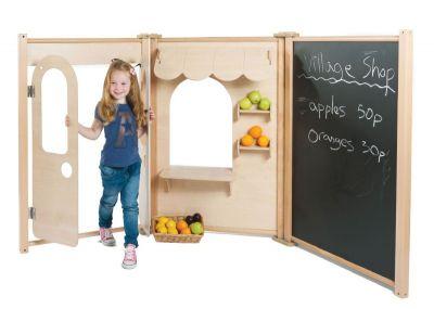 Millhouse Maple Panel Shop Set