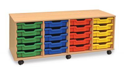 20 Shallow Tray Storage Unit
