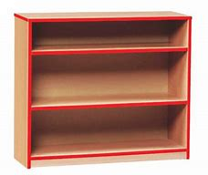 Quality Coloured Edge Bookcases