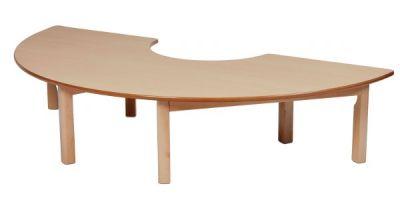 Millhouse Semi-circular Wooden Tables