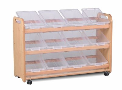 Millhouse Tilted Tray Storage Units-12 Trays