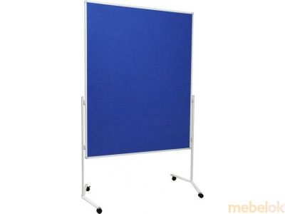 Folding Double Sided Mobile Noticeboard