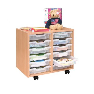 Double Column Storage Unit