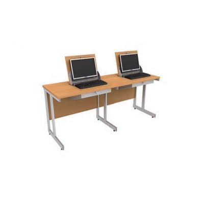 Smart Top' Double Dual Desk Solution