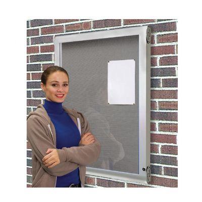 Weather Shield Lockable External Showcase