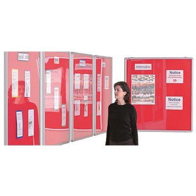 Essex Flameshield Colourtex Aluminium Framed Noticeboards