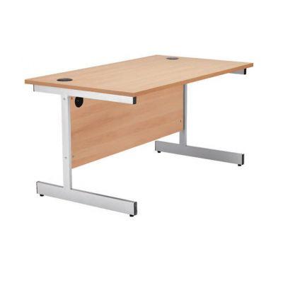Rectangular Single Upright Workstations