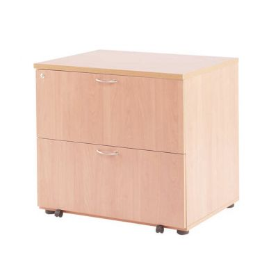 Essentials Desk High Side Filing Cabinet