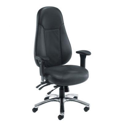 Cheetah Leather Task Chair