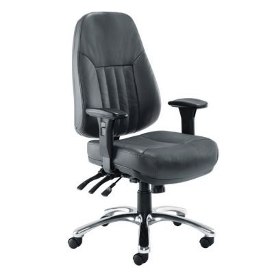 Panther Leather Task Chair
