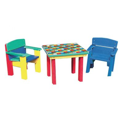 Teeny Tots Chairs & Activity Table