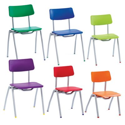BS Two Piece Polypropylene Classroom Chair