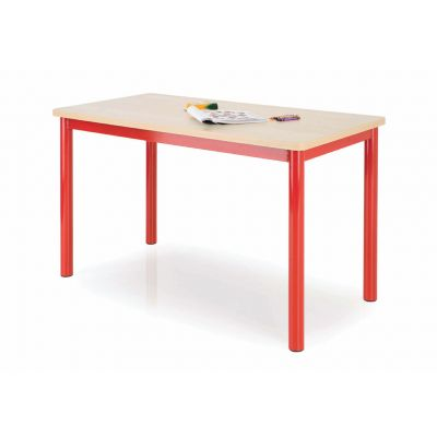Premium MDF Rectangular Classroom Table - 50mm Frame