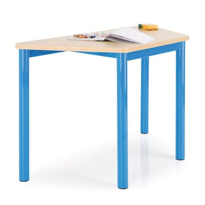Premium MDF Trapezoidal Classroom Table - 50mm Frame