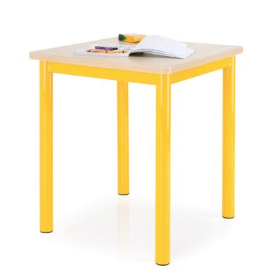 Premium MDF Square Classroom Table - 50mm Frame