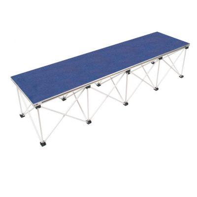 2m x 0.52m Ultralight Stage Desk & Riser