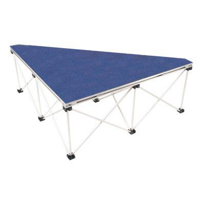 1m Ultralight Triangular Stage Deck & Riser