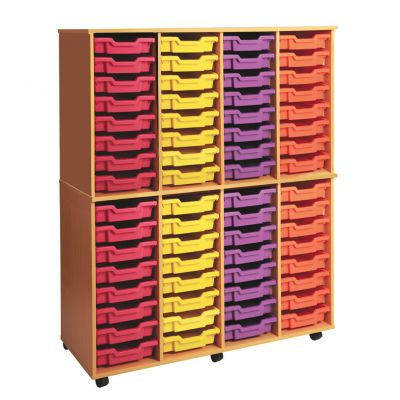 Quad Column Storage Unit