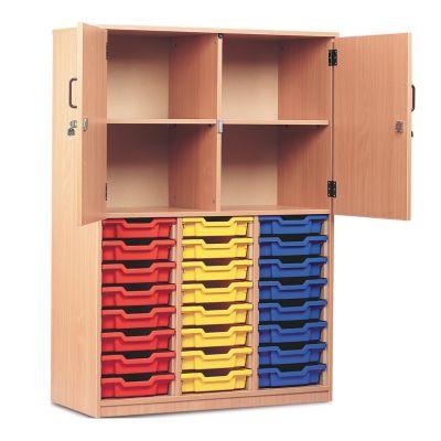 Tall Combination Storage Unit