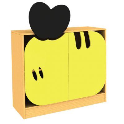 Honey Bee Bookcase Storage