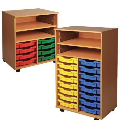 Combination Tray Storage Units (Mobile)