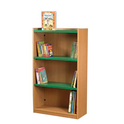 Nexus 704mm Wide Double Sided Flat Top Bookcase