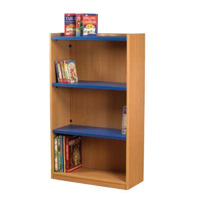 Nexus 704mm Wide Flat Top Bookcase