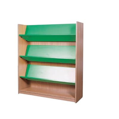 Nexus 600mm Deep Double Sided Straight Bookcase