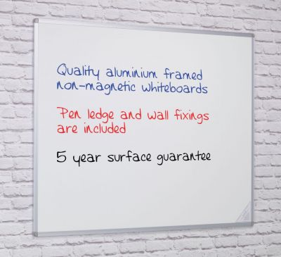 Non Magnetic Double Sided Whiteboard