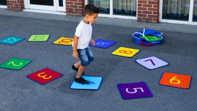 Rainbow 1-24 Mini Outdoor Mats