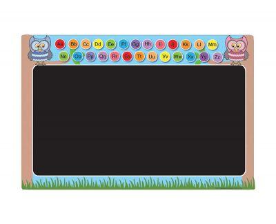 Outdoor Chalkboard - Alphabet Owl