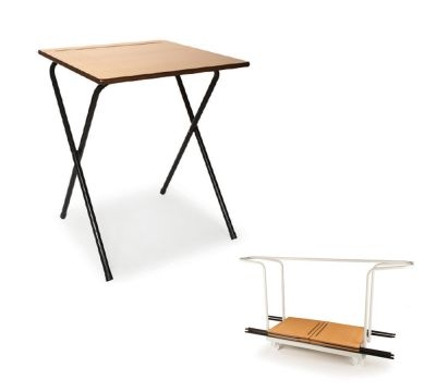 Pack 10 (120 Exam Desks & 3 Trolleys)