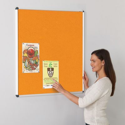 Shield Design ColourPlus Felt Noticeboard