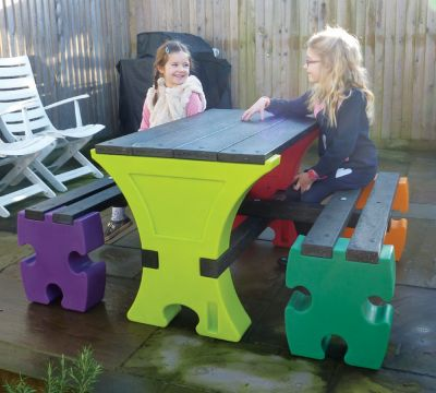 Junior Table & Bench Set
