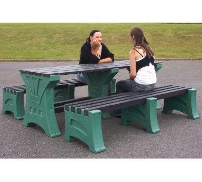 Premier Outdoor Table & Bench Set