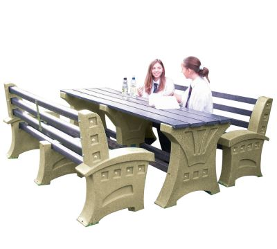 Premier Outdoor Table & Seat Set