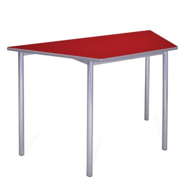 Premium MDF Trapezoidal Classroom Table - 32mm Frame