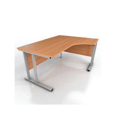 Prestige Radial Cantilever Frame Desk