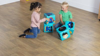 Soft Play Profession Cubes