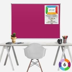 Rainbow Felt Aluminimum Framed Noticeboard