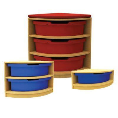 Quarter Corner Storage Unit