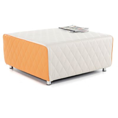 Quilted Breakout Seating- Wipe Clean Quilted Vinyl