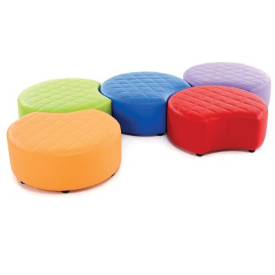 Quilted Snuggle Seating-Wipe Clean Vinyl
