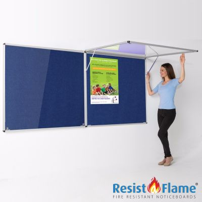 Eco-Colour Corridor Resist-a-Flame Tamperproof Boards