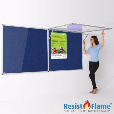 Eco-Colour Corridor Resist-a-Flame Tamperproof Boards