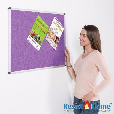 Eco-Colour Aluminium Framed Resist-a-Flame Boards