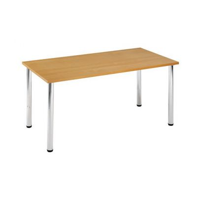 Rectangular Chrome Leg Flexi Meeting Table